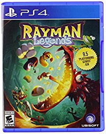Rayman Legends for PS4 box art