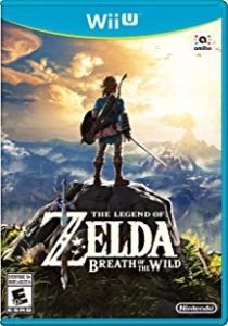 Legend of Zelda Breath of the Wild box art